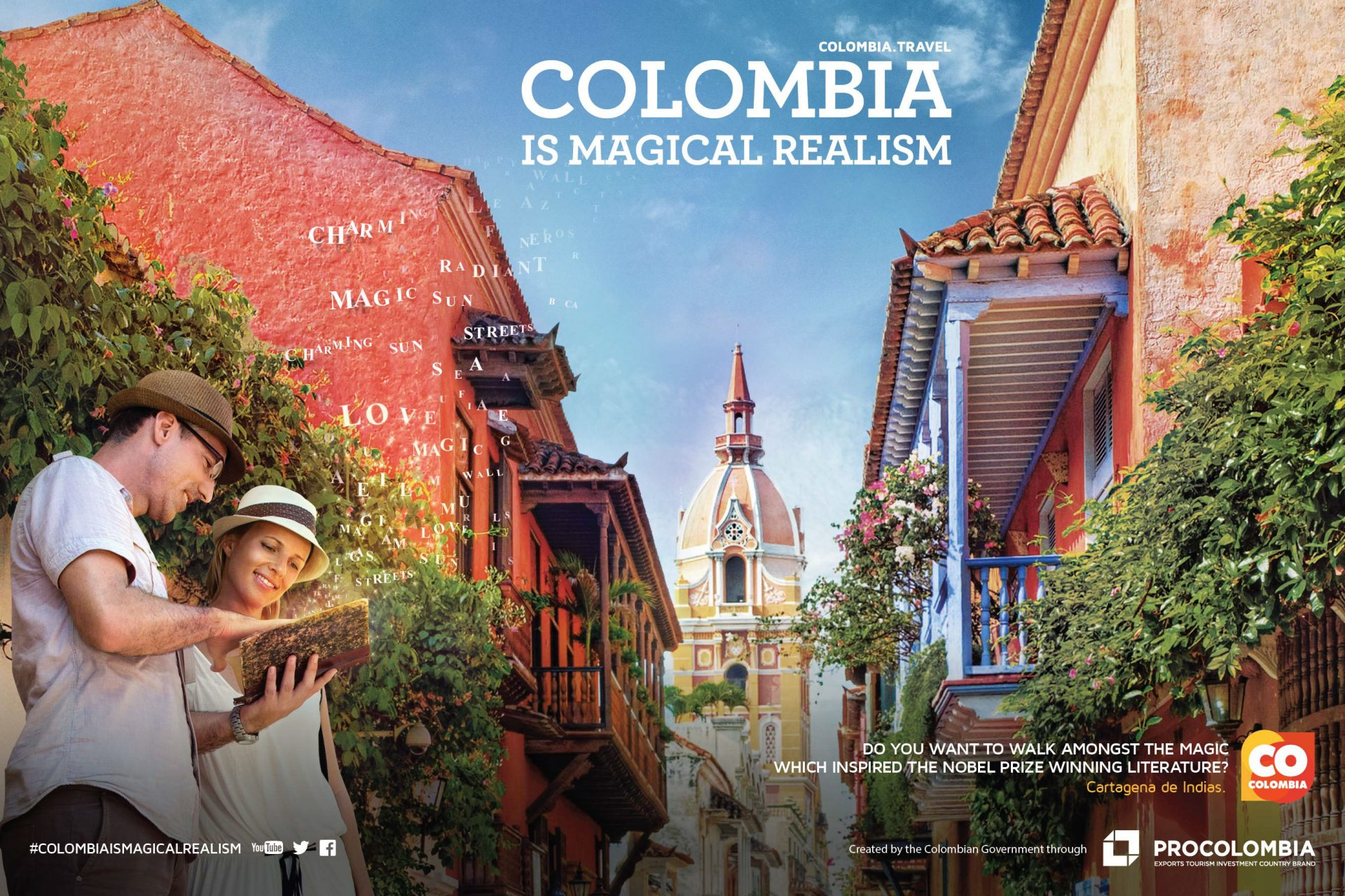 Colombia Tourism Logo